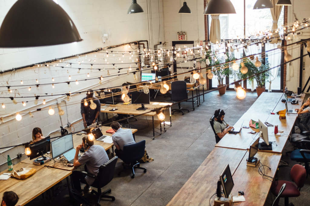 Startup Incubator Workplace People Project Managment