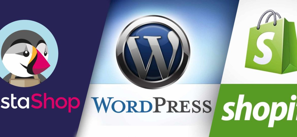 Comparatif Prestashop Wordpress Shopify